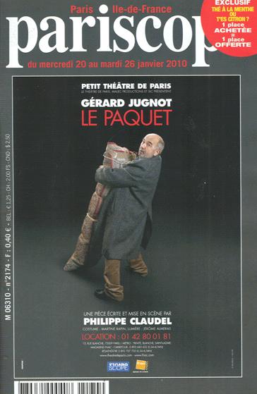 PARISCOPE janvier 2010