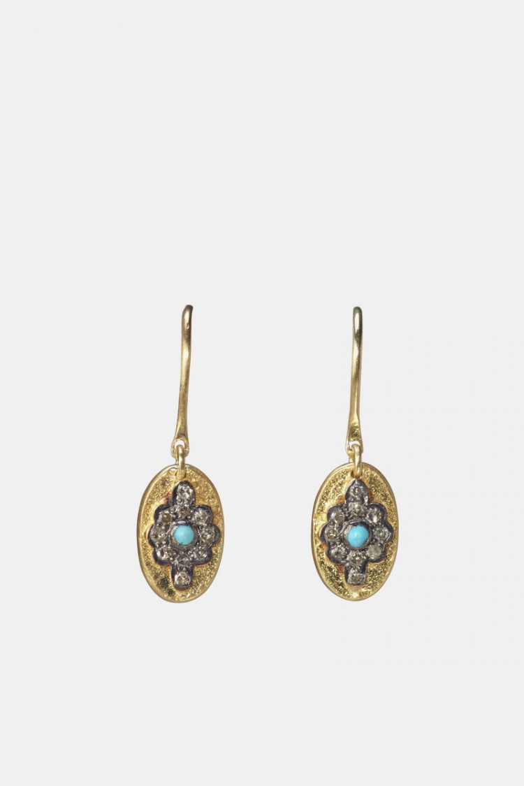 Boucles Liby Turquoise