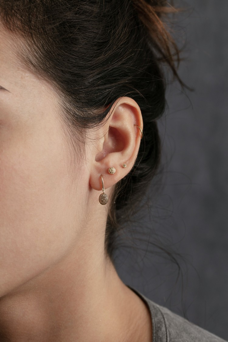Earrings Dye 2