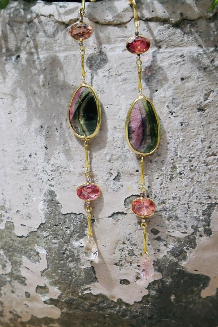 Earrings Odile