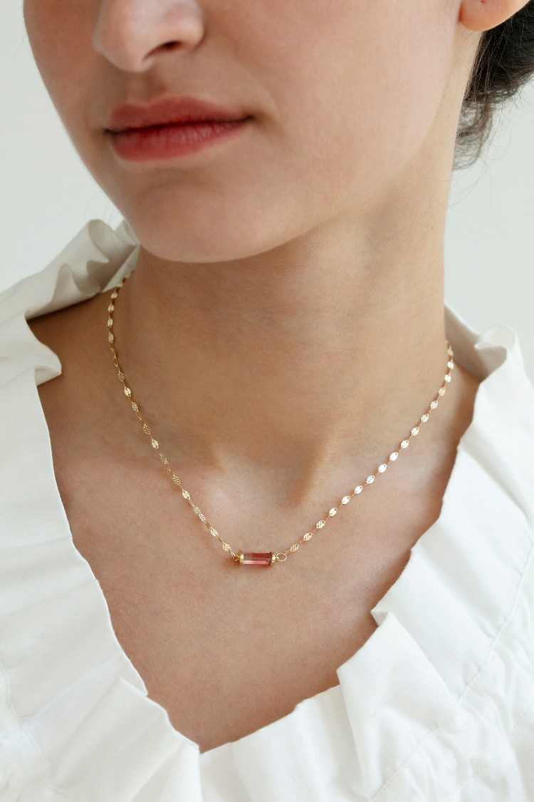 Necklace Bess rose